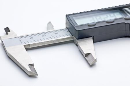 sliding caliper: slide gauge with digital display