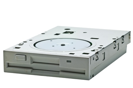 mb: 1.44 MB computer drive Stock Photo