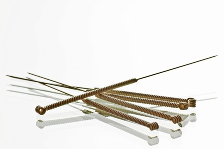 needles: Acupuncture needles