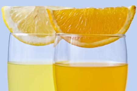 jus de citron: orange juice and lemon juice