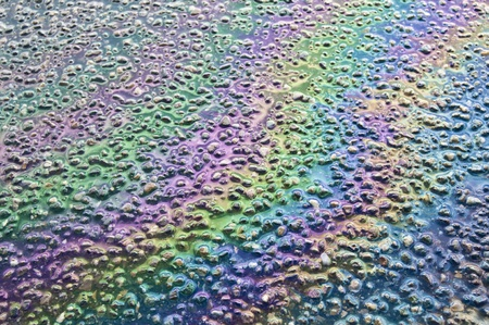 gas spill on asphalt Stock Photo - 8823960