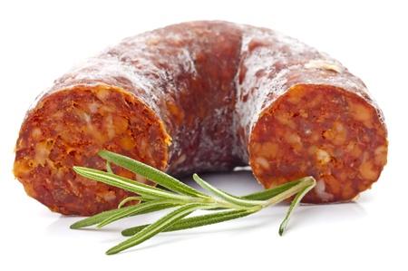 chorizo: Chorizo sausage  Stock Photo