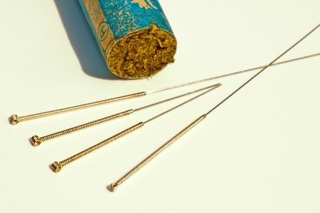 acupuncture needle Stock Photo - 9429435