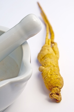 ginseng: ginseng Stock Photo