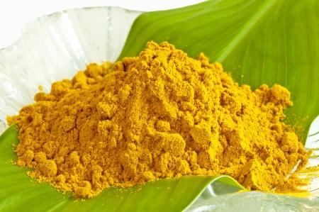 curry powder: turmeric Stock Photo