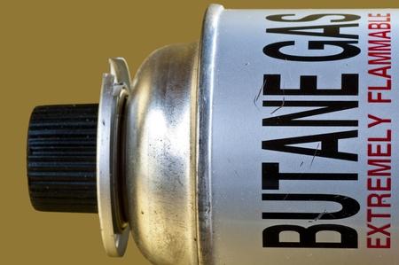 butane: Gas butano Foto de archivo