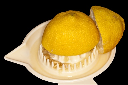 jus de citron: le jus de citron