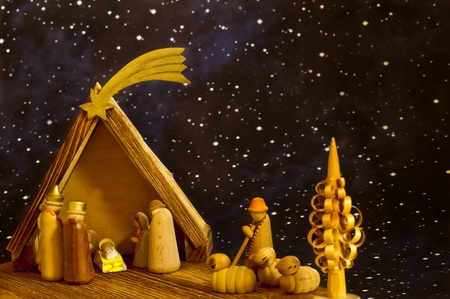 nativity scene Stock Photo - 10098586