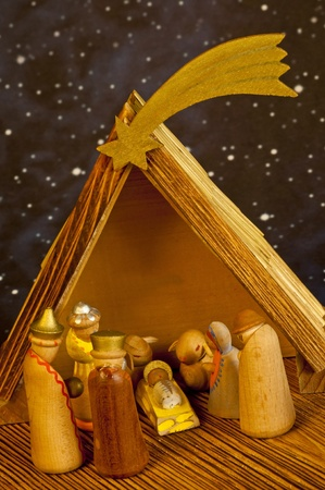 nativity scene Stock Photo - 10098594