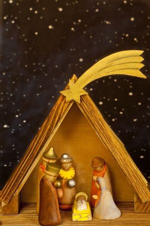 nativity scene photo