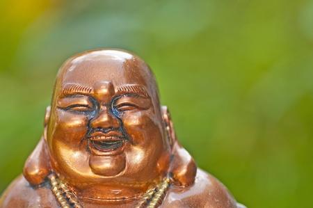 Buddha laughs photo