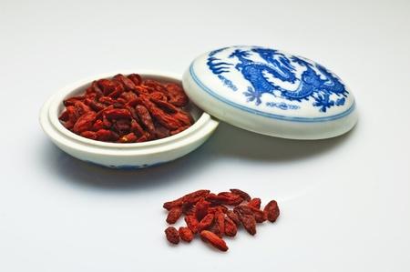 Goji-berries, Lycium barbarum Stock Photo - 10876749