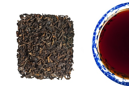 Chinese Pu-Erh tea photo