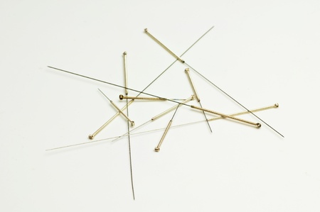 Acupuncture needles Stock Photo - 11009878
