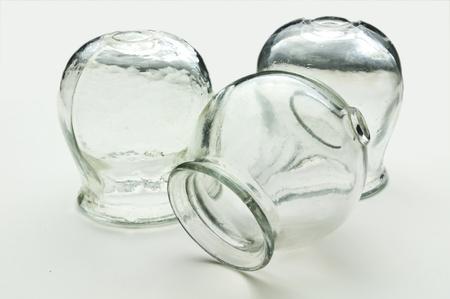 Gläser für Schröpfen Standard-Bild - 11081689