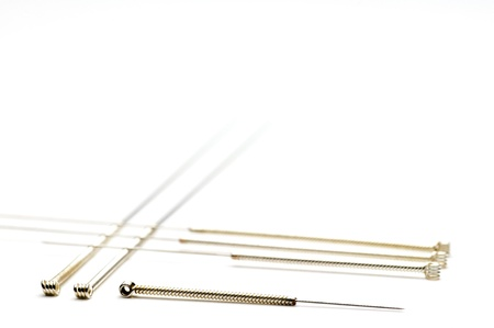Acupuncture needles Stock Photo - 11485652