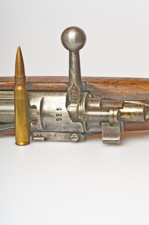 carbine with ammunition Stock Photo - 11741915