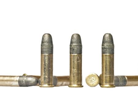 ammunition cal.22 Stock Photo - 11741913