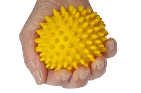 Hand mit Kugel-Massage