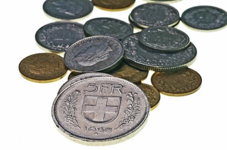 helvetia: Currency of Switzerland Stock Photo