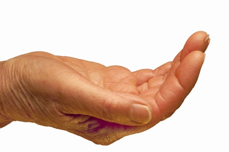 beggar hand Stock Photo - 12069380