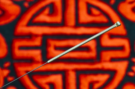 acupuncture needle Stock Photo - 14041737