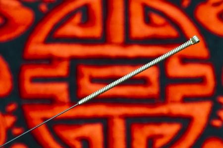 acupuncture needle Stock Photo - 14041737