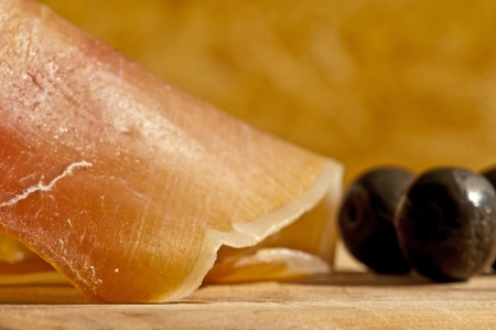 Jamon Serrano, ham of Spain photo
