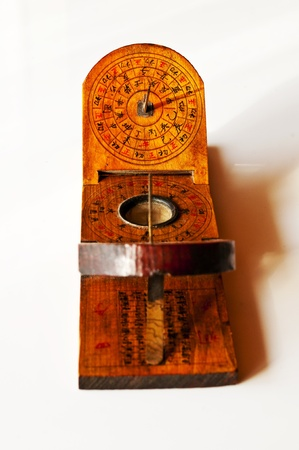 antique chinese sundial photo