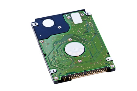hard disk of a notebook Stock Photo