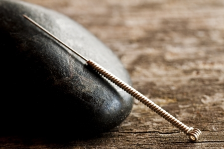 acupuncture needle Stock Photo - 16555539