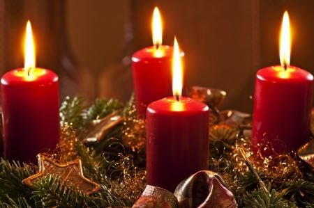 advent wreath Stock Photo - 16780073