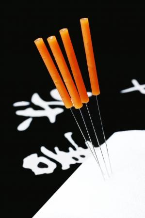 acupuncture needle Stock Photo - 16934799