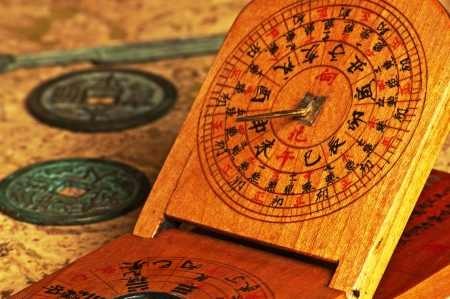 antique chinese sundial