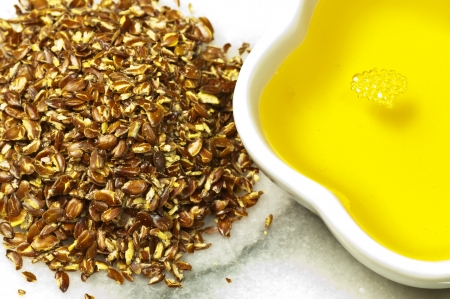 Flax-seed oil photo