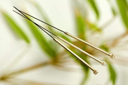 acupuncture needle Stock Photo - 17421434