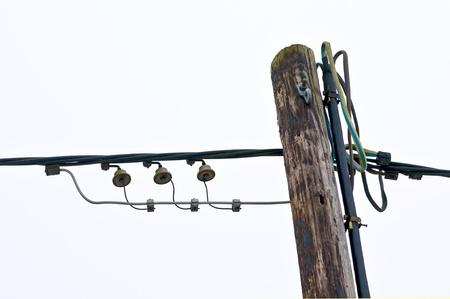 old telephone mast Stock Photo - 17421538