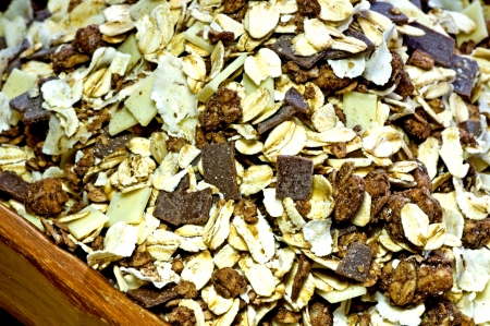 Muesli Stock Photo - 17756262