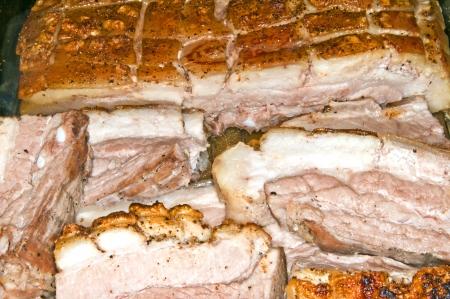 roasted pork belly photo