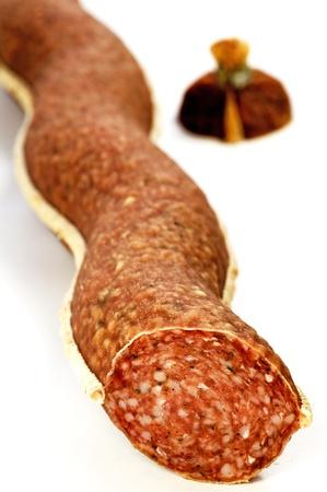 awry:  salami of Italy