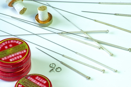 acupuncture needle photo