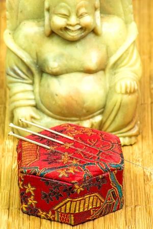 acupuncture needle Stock Photo - 20477703
