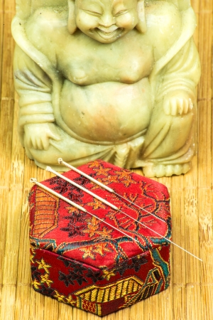 acupuncture needle Stock Photo - 20476774