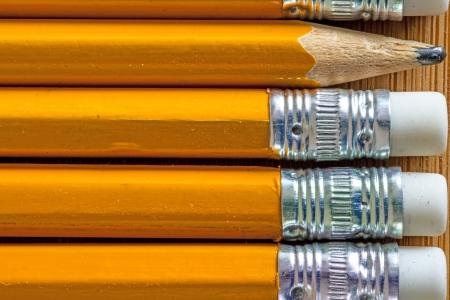 stationery needs: Pencils Stock Photo