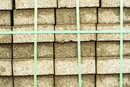 clinker: Packed clinker bricks