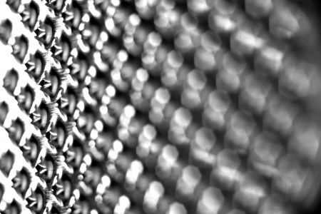 close-up of a food grater Stock Photo - 23431192