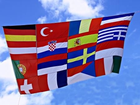 unificar: Bandera de los pa�ses europeos