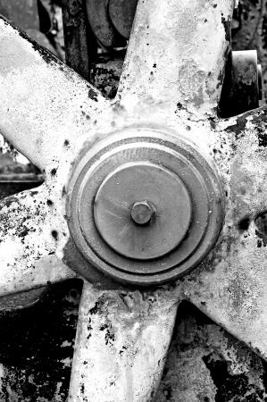 crocket: rusty gear-wheel