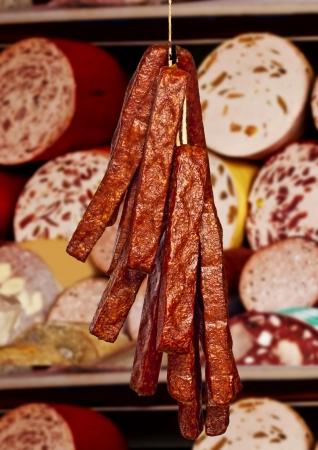 vespers: butcher shop in Germany