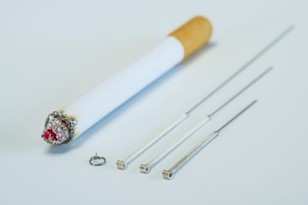 Acupuncture to stop smoking photo